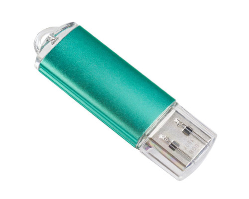 Флэш-карта 4 Gb, PERFEO (PF-E01G004ES), green
