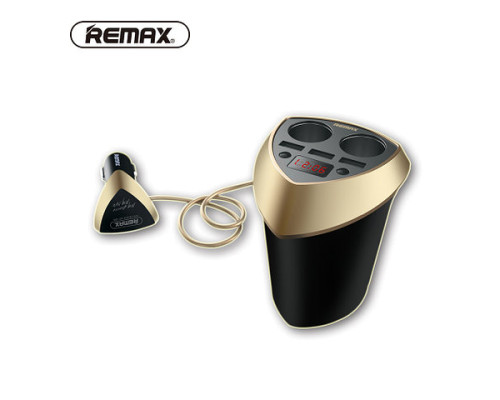 АЗУ 3.4A - 3USB, REMAX CR-3XP, black