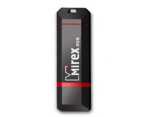 Флэш-карта 8 Gb MIREX, Knight, black