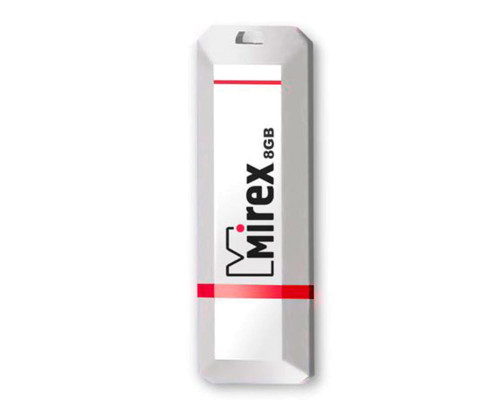 Флэш-карта 8 Gb MIREX, Knight, white